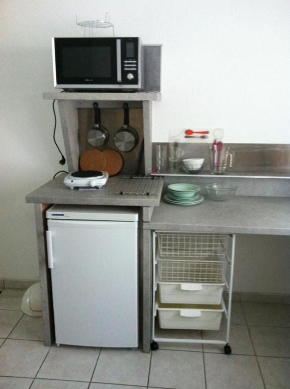 Coin cuisson, réfrigérateur