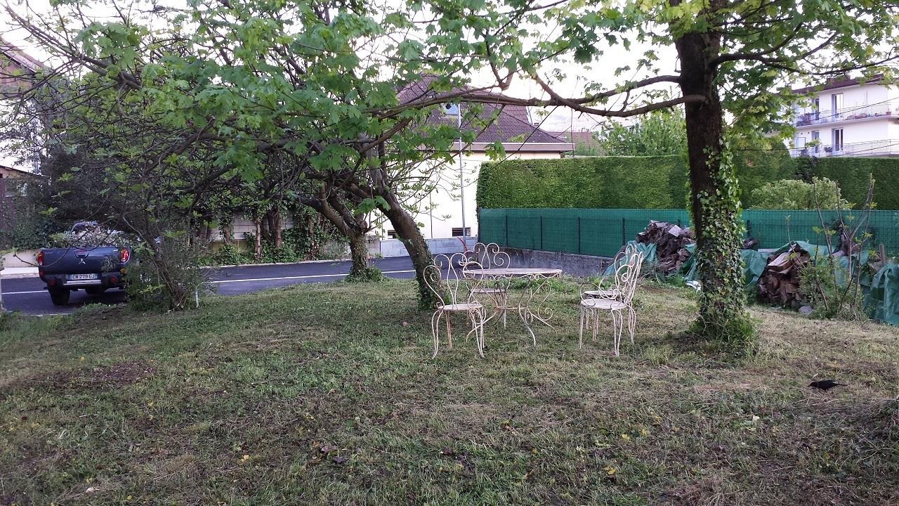 terrasse jardin étudiant