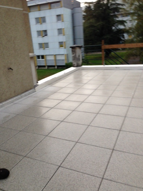 étanchéité isolant terrasse étudiant