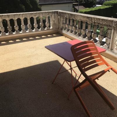 Studio meublé s13 terrasse (3)