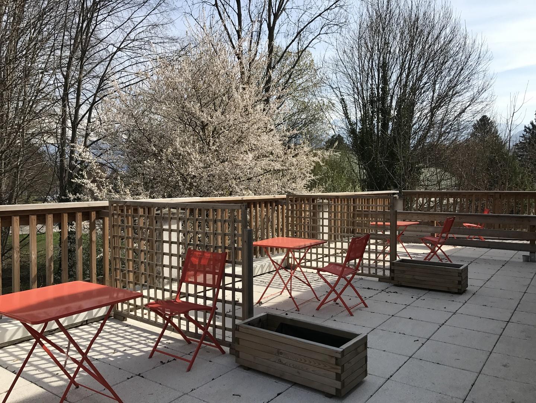 Terrasses printemps